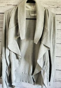 ANTHROPOLOGIE COMME TOI ZIP UP CARDIGAN